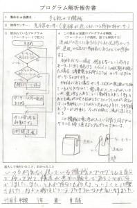 生徒のかいたフローチャート (4)